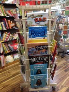 At Kaleido Books, Perth Train Station