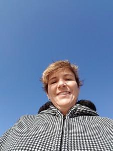 Here's a selfie I took sans book.