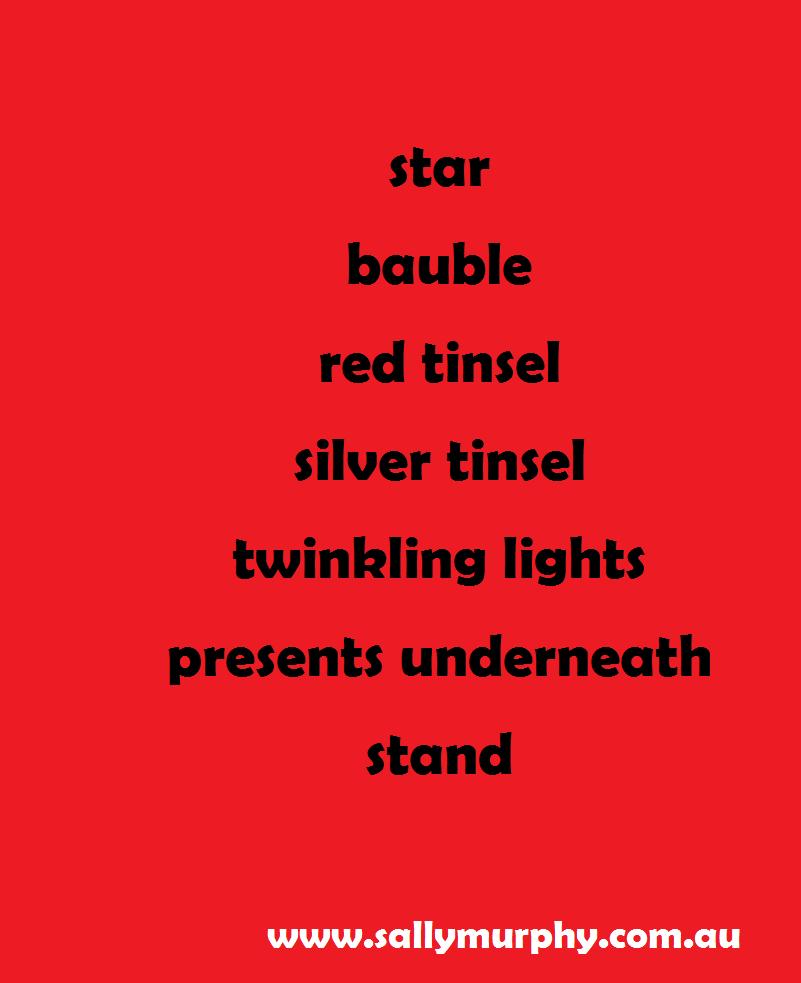 Teacher tuesday write a christmas tree poem maxwellsz